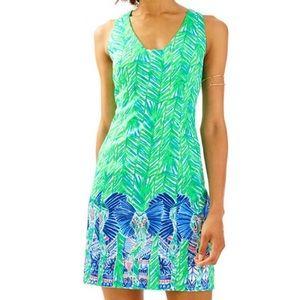 Lilly Pulitzer costa verde elephant tandie dress